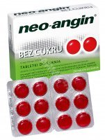 Neo-angin bez cukru x 24 tabl do ssania