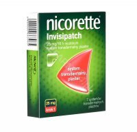 Nicorette invisipatch plastry 25 mg/16 h x 7szt