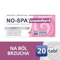 No-spa comfort 40 mg x 20 tabl powlekanych