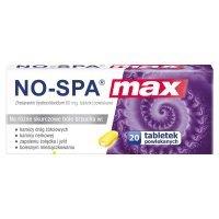 No-spa max 80 mg x 20 tabl powlekanych