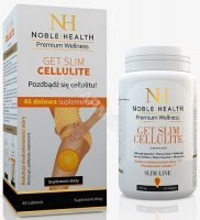 Noble health get slim cellulite x 45 tabl