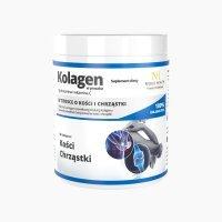 Noble health kolagen w proszku + glukozamina i witamina C 100 g