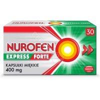 Nurofen express forte 400 mg x 30 kaps