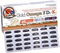 Olimp gold omega 3 D3 + K2 x 30 kaps