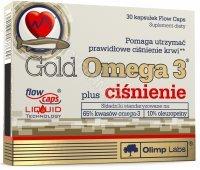 Olimp gold omega 3 plus ciśnienie x 30 kaps
