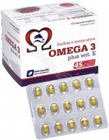 Olimp omega 3 plus witamina E x 120 kaps