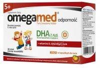 Omegamed odporność 5+ syrop w kapsułkach do żucia x 30 szt