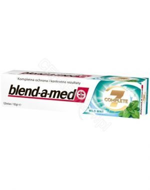 Pasta do zębów blend-a-med complete 7 mild mint fresh 125 ml