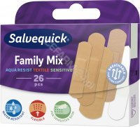 Plastry salvequick Family mix x 26 szt