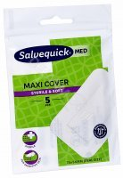 Plastry Salvequick Med Maxi Cover 76 x 54 mm x 5 szt