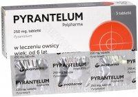 Pyrantelum Polpharma 250 mg x 3 tabl