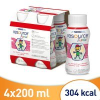 Resource junior truskawkowy 4 x 200 ml