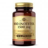 Solgar Mio-Inozytol 1500 mg x 50 kaps