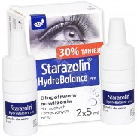 Starazolin HydroBalance PPH krople do oczu 2 x 5 ml