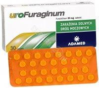 Urofuraginum 50 mg x 30 tabl