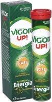 Vigor up! fast x 20 tabl musujących o smaku pomarańczowym