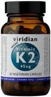 Viridian Witamina K2 (mk-7) 45 ug x 30 kaps