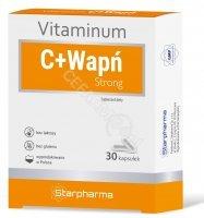 Vitaminum C+Wapń Strong x 30 kaps