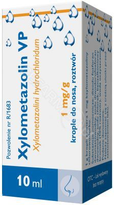 Xylometazolin VP krople 0,1% 10 ml (ICN)