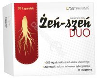 Żeń - szeń Duo x 30 kaps (Avet Pharma)